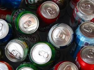 Cutting down on soda