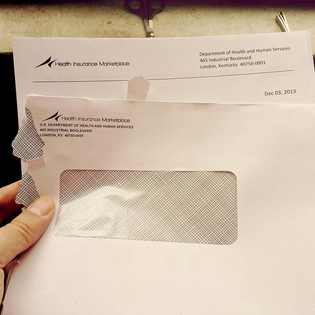 health insurance letter